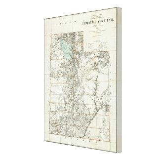 Territory of Utah 2 Canvas Print