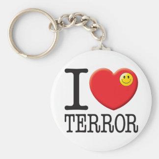 Terror Love Keychains
