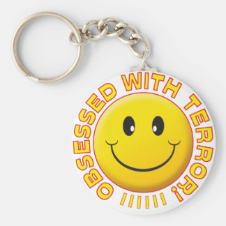 Terror Obsessed Smile Keychain