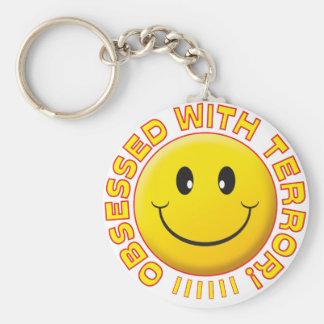Terror Obsessed Smile Keychain
