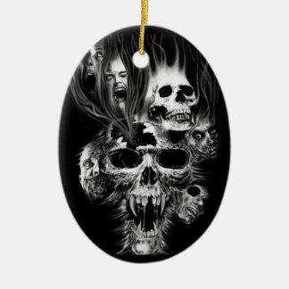 Terror of Halloween - Christmas Ornament
