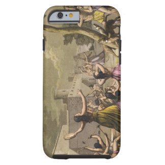 Terror of the Peruvians during an eclipse of the m Tough iPhone 6 Case