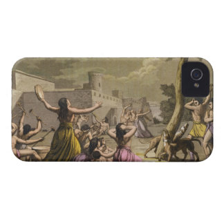 Terror of the Peruvians during an eclipse of the m iPhone 4 Covers