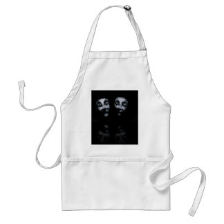 Terror twins haunted dolly product standard apron