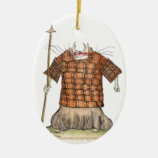 Terrorcatta Army 1 fish catchers, tony fernandes Christmas Ornament