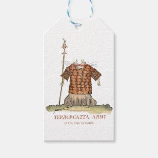 Terrorcatta Army 1 fish catchers, tony fernandes Gift Tags