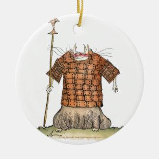Terrorcatta Army 1 fish catchers, tony fernandes Round Ceramic Decoration