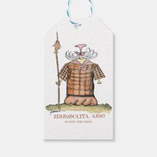 Terrorcatta Army chief fish friar, tony fernandes Gift Tags