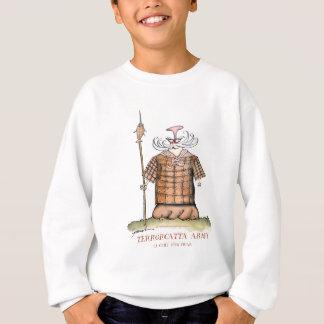 Terrorcatta Army chief fish friar, tony fernandes Sweatshirt