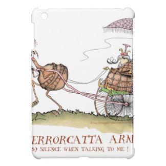 Terrorcatta, silence when talking, tony fernandes cover for the iPad mini