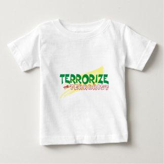 Terrorise  d terrorist baby T-Shirt