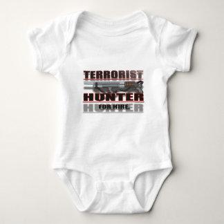 TERRORIST HUNTER BABY BODYSUIT