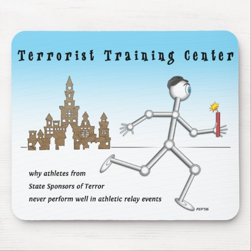 Terrorist Training Center Mouse Pads