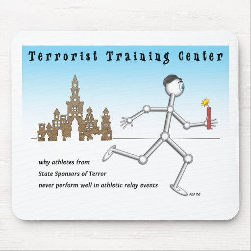 Terrorist Training Center Mousepads
