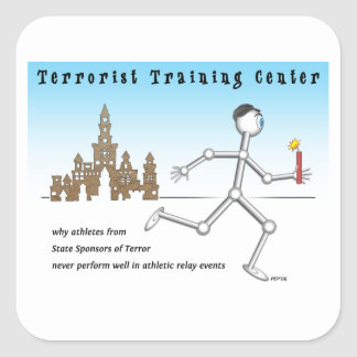 Terrorist Training Center Stickers