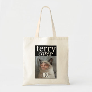 """""""Terry Cares"""" Tote"""
