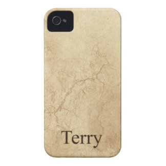 TERRY Name Personalised Cell Phone Case iPhone 4 Cover
