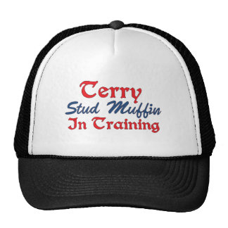 Terry Stud Muffin in Training Mesh Hats