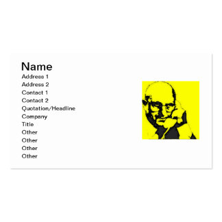 TERRY TIBBS TALK TO ME! PACK OF STANDARD BUSINESS CARDS