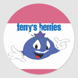 Terry's Berries Sticker 20 Sheet