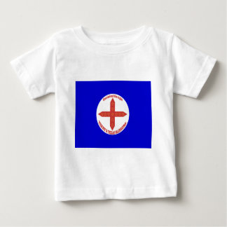 Terry's Texas Rangers Flag Baby T-Shirt