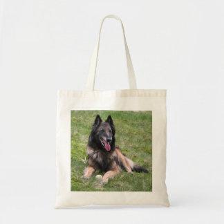 Tervuren Belgian Shepherd dog photo tote bag
