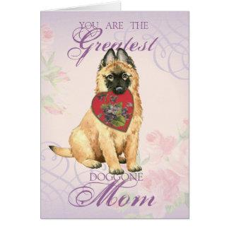 Tervuren Heart Mom Card