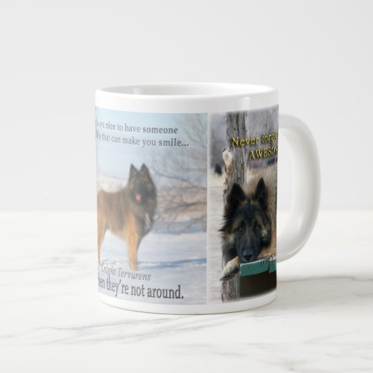 Tervuren mug with life quotes