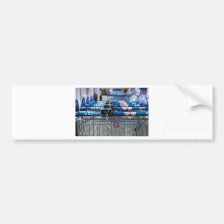 Tesco trolley bumper sticker