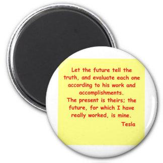 tesla2 6 cm round magnet