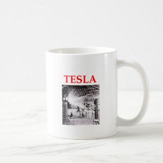 tesla coffee mug