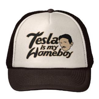 Tesla is my Homeboy Mesh Hats