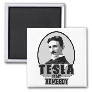 Tesla Is My Homeboy Magnet