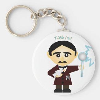 Tesla Key Ring