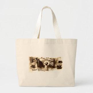 Tesla Letterhead Jumbo Tote Bag