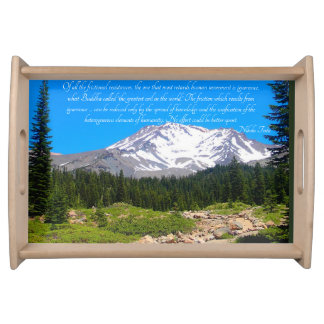 Tesla Quote Serving Tray