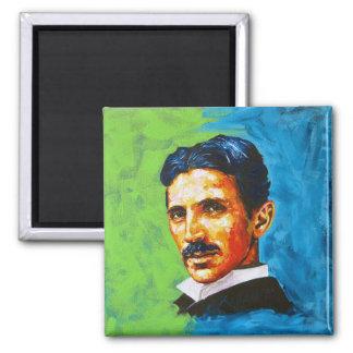 Tesla Square Magnet