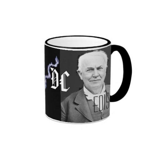 Tesla vs Edison Coffee Mug