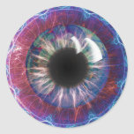 Tesla's Eye Fractal Design Stickers