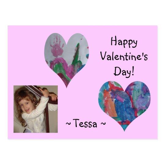 Tessa's Valentine Postcard