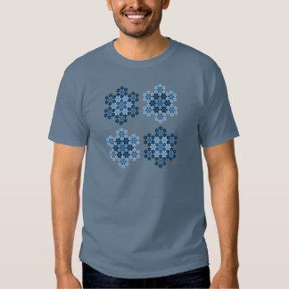 Tessellated Koch Snowflakes T Shirt
