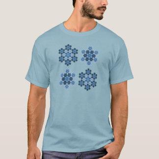 Tessellated Koch Snowflakes T-Shirt
