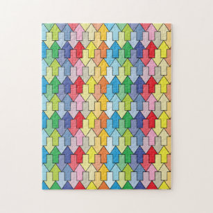 Jigsaw puzzle tessellation (With images