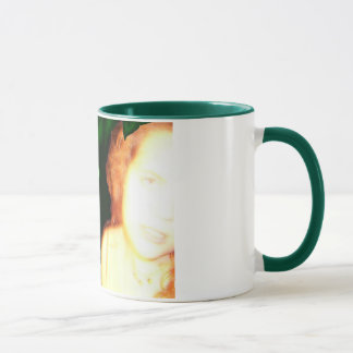 Tessie Fairy Green 11 oz Ringer Coffee Mug
