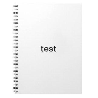 test1 notebook