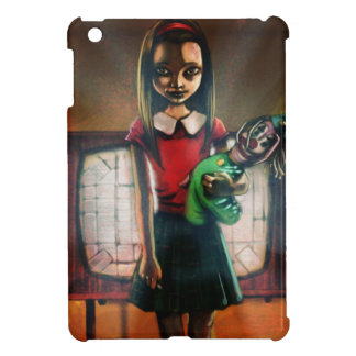 Test Card Girl iPad Mini Covers