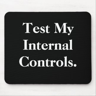 Test Internal Controls Cheeky Office Innuendo