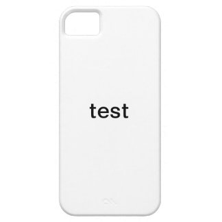 test iPhone 5 cover