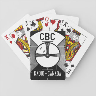 Test Pattern Playing Cards