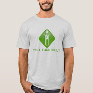 Test Tube Adult T-Shirt